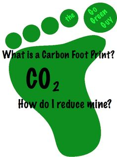30 cost free ways to reduce your Carbon Footprint: from the Go Green Guy!