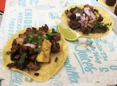Chido Taco, Raleigh - A light and bright mercado style taqueria offering up bistecca, suadero, al pastor and more wrapped in a fresh tortilla, delicioso! Menu and prices.  #nctriangledining #koreanfriedchicken #ncrestaurantreview #ncfood #ncrestaurant #raleigh #raleighnc #raleighfood #raleighrestaurant #raleigheats