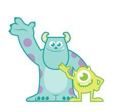 Baby inspired Monsters Inc! Monsters Inc Characters, Sully Monsters Inc, Monsters Ink, Monster Party, Monster Inc Birthday, Disney Babys, Baby Disney, Disney Love, Cartoon Wallpaper