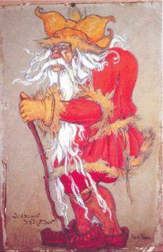 Dovrsky grandfather - Nikolái Roerich