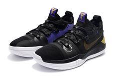Products Descriptions:  Kobe Bryant Nike Kobe AD Black Metallic Gold-Purple-White For Sale  SIZE AVAILABLE: (Men)US7=UK6=EUR40 (Men)US8=UK7=EUR41 (Men)US8.5=UK7.5=EUR42 (Men)US9.5=UK8.5=EUR43 (Men)US10=UK9=EUR44 (Men)US11=UK10=EUR45 (Men)US12=UK11=EUR46  Tags: Nike Kobe A.D., Kobe A.D. Colorful Model: NIKEKOBE-NKAD102008 5 Units in Stock Manufactured by: NIKEKOBE Purple Gold, Metallic Gold, Nike Kicks, Air Max 270, Kobe Bryant, Air Jordans, Sneakers Nike, Footwear, Ads