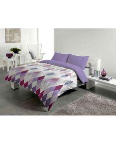 Funda n rdica con alegre estampado en flores muy actual - Viste tu cama ...