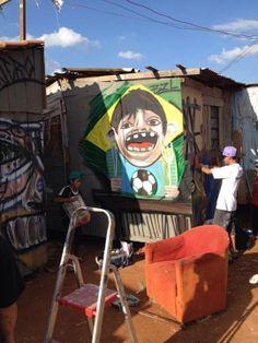 """""""Fome padrão FIFA"""" na Ocupação Nova Primavera em Curitiba"""
