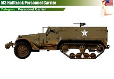 M3 Halftrack Personnel Carrier