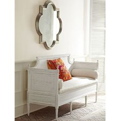 Wisteria - Furniture - Shop by Category - Benches & Ottomans -  Swedish Settee - $2,199.00