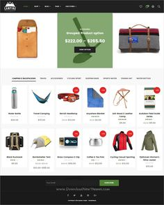 Camping is a wonderful responsive #WooCommerce #WordPress theme for stunning #eCommerce website with 6 unique homepage layouts download now➩ https://themeforest.net/item/camping-responsive-woocommerce-wordpress-theme/19477027?ref=Datasata
