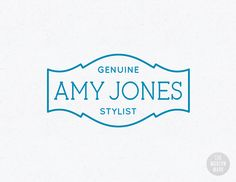 One-of-a-kind pre-made logo design for the stylishly modern small business.