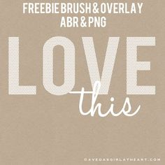 A Vegas Girl at Heart: Freebie Friday: LOVE this Photoshop brush & photo ...