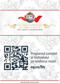 Festivalul Internaţional de Teatru de la Sibiu - programul festivalului pe mobil