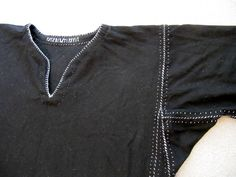 Norse Style Tunic by catcetera, via Flickr. I like the runic embroidered signature on the neck :) Nice touch.