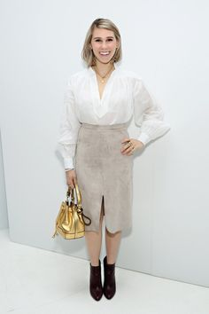 Pin for Later: 3 Celebs Who Prove Even Style Stars Wear Sweatpants Sometimes Zosia Mamet