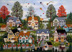 Картинки для пазлов - художник Jane Wooster Scott