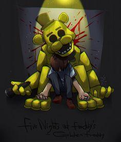 Five Nights at Freddy's Golden Freddy