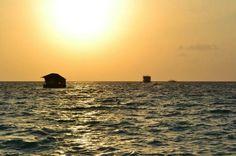 Sunset in Maldives - Mayafushi atholl