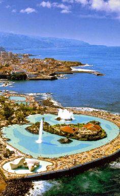 Tenerife Island, Lago Martianez- Puerto de la Cruz- Canary Islands, Spain
