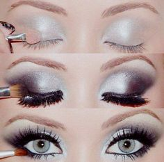 Maquillaje Gris