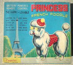 Vintage poodle ad