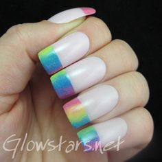Nailpolis Museum of Nail Art | Turn your collar up to some wickedness by Vic 'Glowstars' Pires