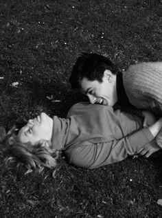 Romy Schneider and Alain Delon Vintage Couples, Vintage Love, Cute Couples, Vintage Romance, Vintage Kiss, Romy Schneider, Alain Delon, My Best Friend, Best Friends