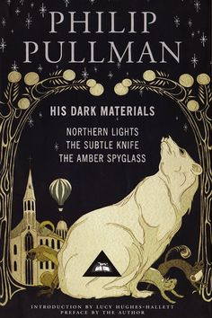 Every Book on Emma Watson's Reading List 'His Dark Materials' by Philip Pullman His Dark Materials Daemon, His Dark Materials Trilogy, Emma Watson, Best Fantasy Series, Fantasy Books, Buzzfeed Books, 100 Books To Read, The Dark Tower, Isaac Asimov