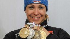 Magdalena Neuner aus #Garmisch-Partenkirchen. Die #Biathletin gehört zu den erfolgreichsten Sportlerinnen auf ihrem Gebiet.