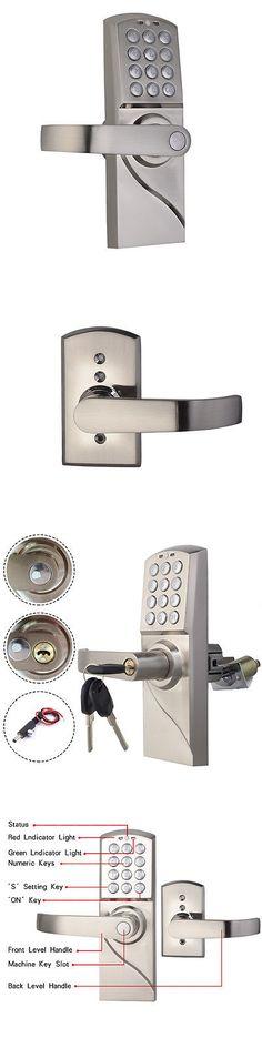Other Door Hardware 20593: Digital Electronic Code Keyless Keypad Security  Right Handle Entry Door Lock Kit  U003e BUY IT NOW ONLY: $48.79 On EBay!