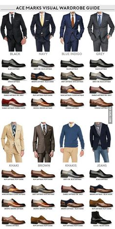 Do You Know which 4 Pairs of Mens Dress Shoe Styles You SHOULD Have in Your Closet? - Men Dress Shoe - Ideas of Men Dress Shoe - Mens Dress Shoe Styles Visual look inforgraphic Mens Style Guide, Men Style Tips, Business Casual Men, Men Casual, Business Suits Men, Mens Business Professional, Stylish Men, Formal Men Outfit, Mens Casual Dress Shoes