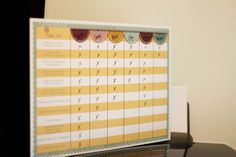 Photographer Workflow Dry Erase Board Template - Organize your Photography Business and add your logo