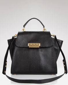 Z Spoke Zac Posen Satchel - Eartha Hinged Top Handle - All Handbags - Handbags - Handbags - Bloomingdale's