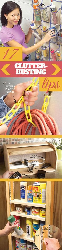 14 Clever Deep Cleaning Tips & Tricks Every Clean Freak Needs To Know Do It Yourself Organization, Clutter Organization, Organizing Your Home, Organization Ideas, Storage Ideas, Organizing Tips, Deep Cleaning Tips, Cleaning Hacks, Cleaning Solutions