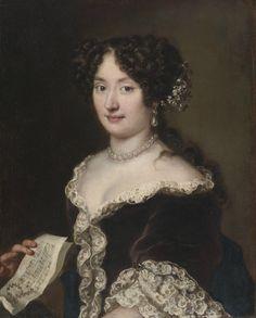 Jacob Ferdinand Voet (1639-1689) — Portrait of   Lady (1124×1400)