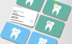 Happy Teeth Dental Business Cards
