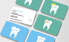 Happy Teeth Dental Business Cards