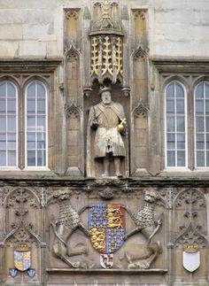 Henry VIII on Trinity College, Cambridge                                                                                                                                                                                 More