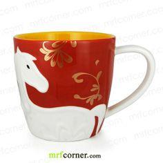 SM160 12oz Starbucks Chinese New Year Horse Mug
