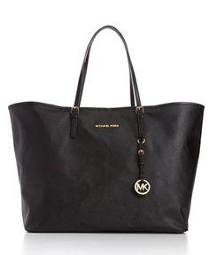 MICHAEL Michael Kors Handbag, Saffiano Large Travel Tote