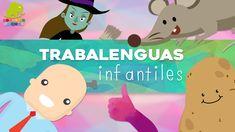 Trabalenguas cortos para niños – Juegos didácticos infantiles