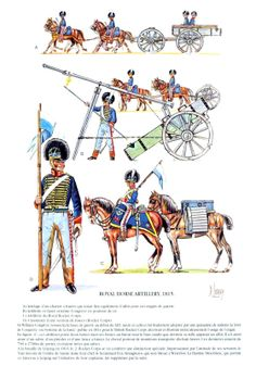 The Rocket Troop of the RHA Congreves Rockets. British Army Uniform, British Uniforms, British Soldier, Battle Of Waterloo, Waterloo 1815, Royal Horse Artillery, Military Costumes, Military Uniforms, English Army