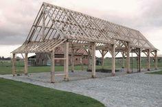 Eiken balken   eikenhouten balkconstructies dakconstructies Desmet Edwin