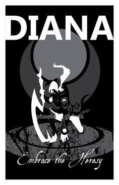 Diana League of Legends Print by pharafax on Etsy