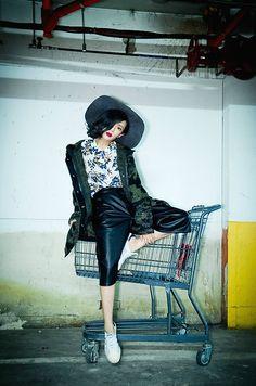 Get this look: http://lb.nu/look/7879630  More looks by Natalie Tien: http://lb.nu/nataliec1128  Items in this look:  Diesel Camouflage Coat   #chic #grunge #street