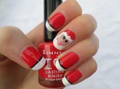 50 Christmas Nail Art Designs and Trends 2015 for more Holiday nail designs visit http://nailartpatterns.com/christmas-nail-art-designs/