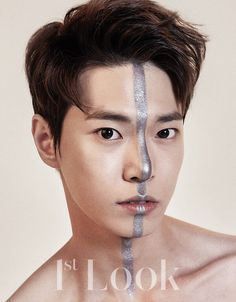 """photoshoot director: """"can i draw a line on your face with a silver sharpie? that would be hella aesthetic"""""""