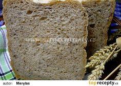 Pšenično-žitný chléb s lněným semínkem recept - TopRecepty.cz