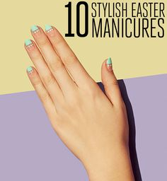 Embrace the season with pastel polishes #Easter #NailArt