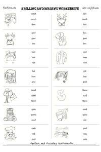 Printables Free Spelling Worksheet Generator phonics worksheets activities and kindergarten on pinterest free spelling worksheet maker reading printable 100 customizable