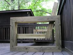 Outdoor sectional couch - by Ben Robinson @ LumberJocks.com ~ woodworking community
