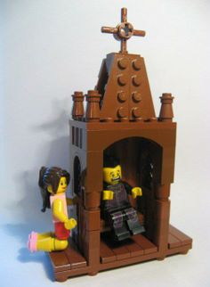 From awesome blogger The Crescat, a Lego Confessional