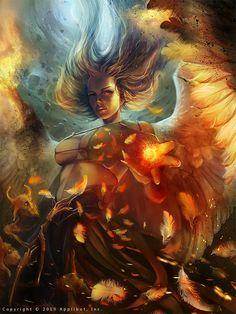 Lost Angel (advanced version) by AniaMitura.deviantart.com on @deviantART