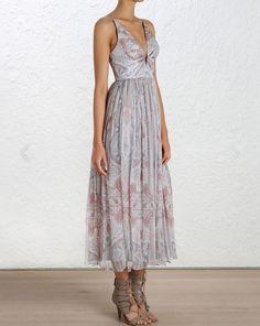 Arcadia Plunge V Dress: $510